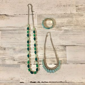 Fashion Jewelry - Two Necklaces and Bracelet